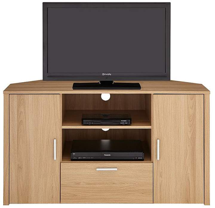 Sanford Tall Corner TV Unit - Fits Up To 50 Inch TV