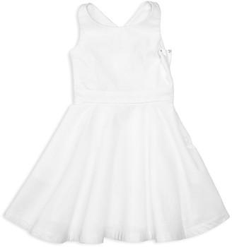 Ralph Lauren Childrenswear Girls' Cross Back Dress - Little Kid $79.50 thestylecure.com
