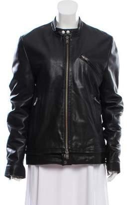 Zadig & Voltaire Leather Len Jacket