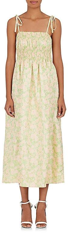 CALVIN KLEIN 205W39NYC Women's Floral Jacquard Maxi Dress