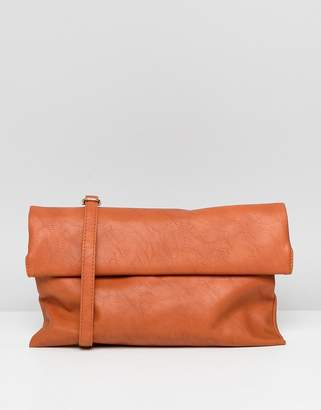 Yoki Fashion YOKI suedette fold over shoulder bag