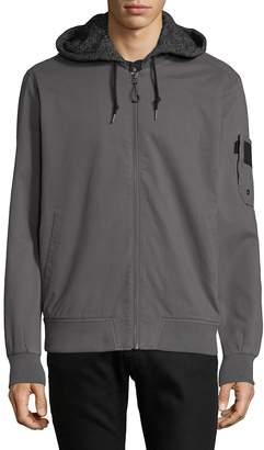 Tavik Men's Bristol Hooded Bomber Jacket