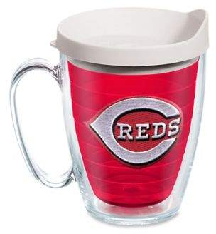 Tervis® Tumbler Red Inner MLB Cincinnati Reds 16 oz. Mug with Lid
