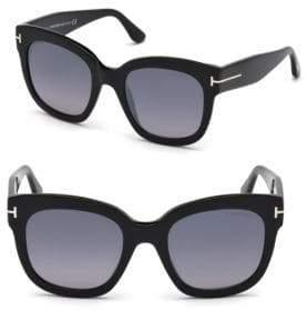 Tom Ford 50MM Beatrix Square Sunglasses