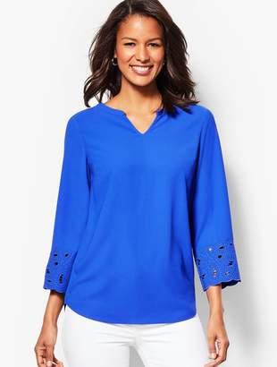1d34efc8220e5a Talbots Blue Petite Tops - ShopStyle