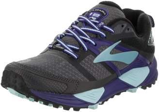 Brooks Women's Cascadia 12 GTX Running Shoe (BRK-120252 1B 3790280 8.5 025 BLACK/EBONY/BLUE)