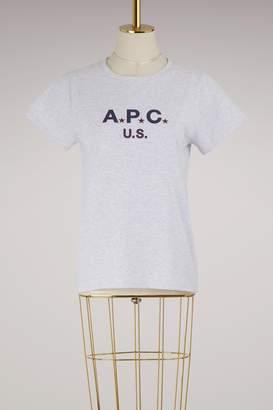 A.P.C. U.S. cotton T-shirt
