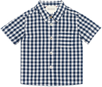 Baby check cotton shirt $260 thestylecure.com