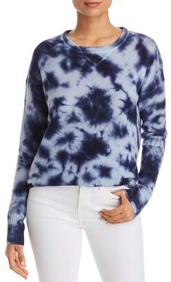 Bloomingdale's C by Tie-Dye Drop-Shoulder Cashmere Sweater - 100% Exclusive