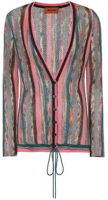 Missoni Striped wool-blend cardigan