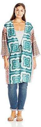 Single Dress Women's Plus Size Kelly Kimono $86.74 thestylecure.com