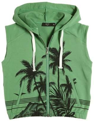 N°21 (ヌメロ ヴェントゥーノ) - N°21 Palms Printed Cotton Vest