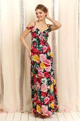 Elegance By Sarah Ruhs Off Shoulder Floral
