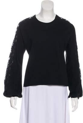 Giambattista Valli Embroidered Long Sleeve Sweater w/ Tags