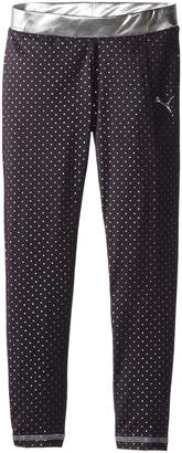 Puma Big Girls' Foil Dot Legging