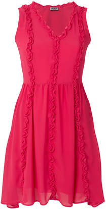Liu Jo ruffle trim dress