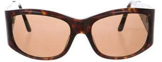 Jimmy Choo Round Tinted Sunglasses