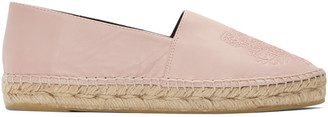 Kenzo Pink Leather Tiger Espadrilles $240 thestylecure.com