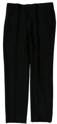Givenchy Virgin Wool Cutout Pants