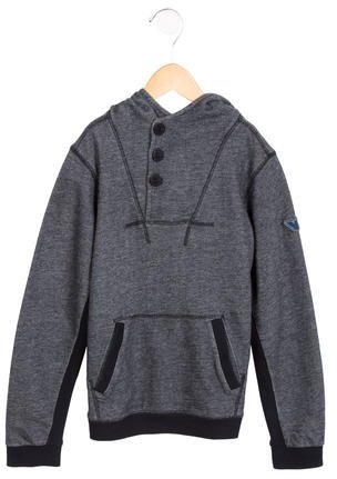 Armani JuniorArmani Junior Boys' Hooded Pullover Sweatshirt