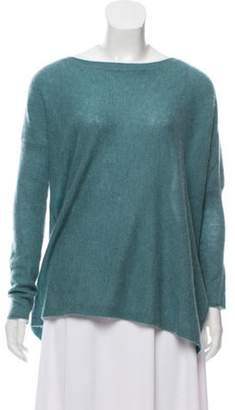 360 Cashmere Cashmere Knitted Top Turquoise Cashmere Knitted Top