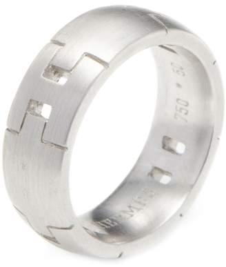 Hermes Women's Vintage Alliance Herakles White Gold Ring