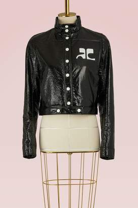 Courreges Short Logo Jacket