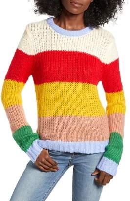 ENGLISH FACTORY Multicolor Stripe Sweater