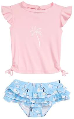 Snapper Rock Cabana Ruffle Swim Set