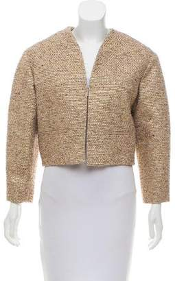 Chloé Metallic Tweed Jacket