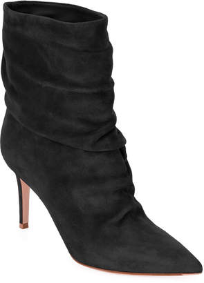 Gianvito Rossi Slouchy Suede 85mm Booties