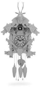 Deer and Bird Wall Clock