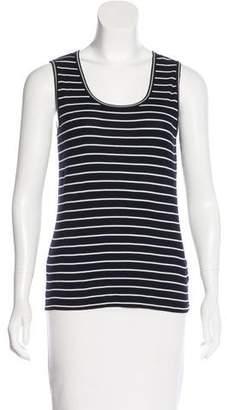 Rena Lange Striped Sleeveless Top