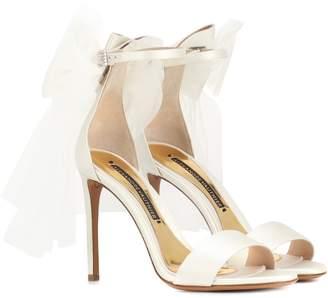 Alexandre Vauthier Bowdown 2 satin sandals