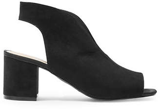 Topshop Ditsy Cut-Out Shoes
