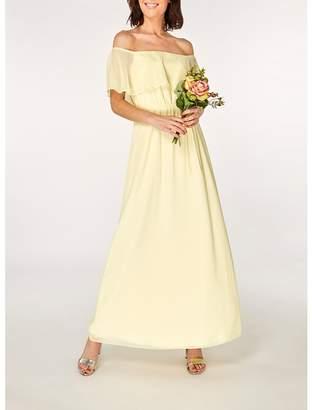 Dorothy Perkins Showcase Lemon Siena Maxi Dress