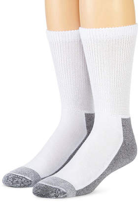 Dickies 2-pk. Non-Binding Steel Toe Crew Socks