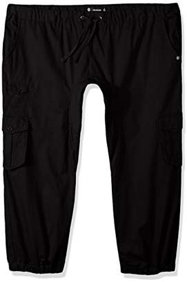 Akademiks Men's Big and Tall River Cargo Twill Jogger Pants