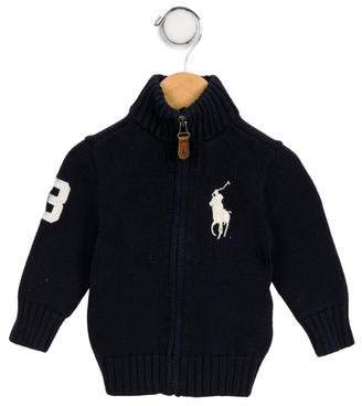 Polo Ralph Lauren Infant Boys' Turtleneck Knit Cardigan