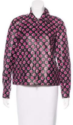 Prada 2016 Leather Jacket w/ Tags