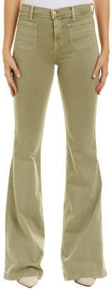 J Brand Demi Light Olive Flare Leg