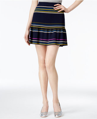 RACHEL Rachel Roy Striped Flared Skirt, Only at Macy's $89 thestylecure.com