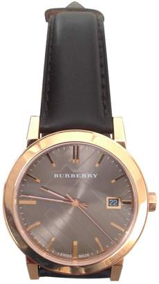 Burberry Brown Steel Watches