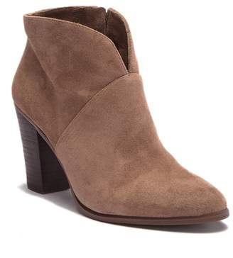 Vince Camuto Franell Leather Western Bootie (Women)