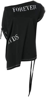 Ann Demeulemeester Forever Kids Tシャツ