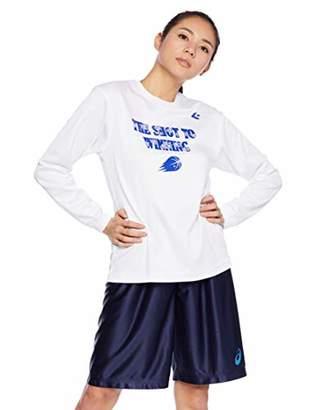 Converse (コンバース) - [コンバース] バスケットボールウェア 機能プリントロングスリーブTシャツ CB382305L [レディース] ホワイト 日本 L (日本サイズL相当)