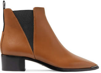 Acne Studios Jensen Leather Ankle Boots - Brown