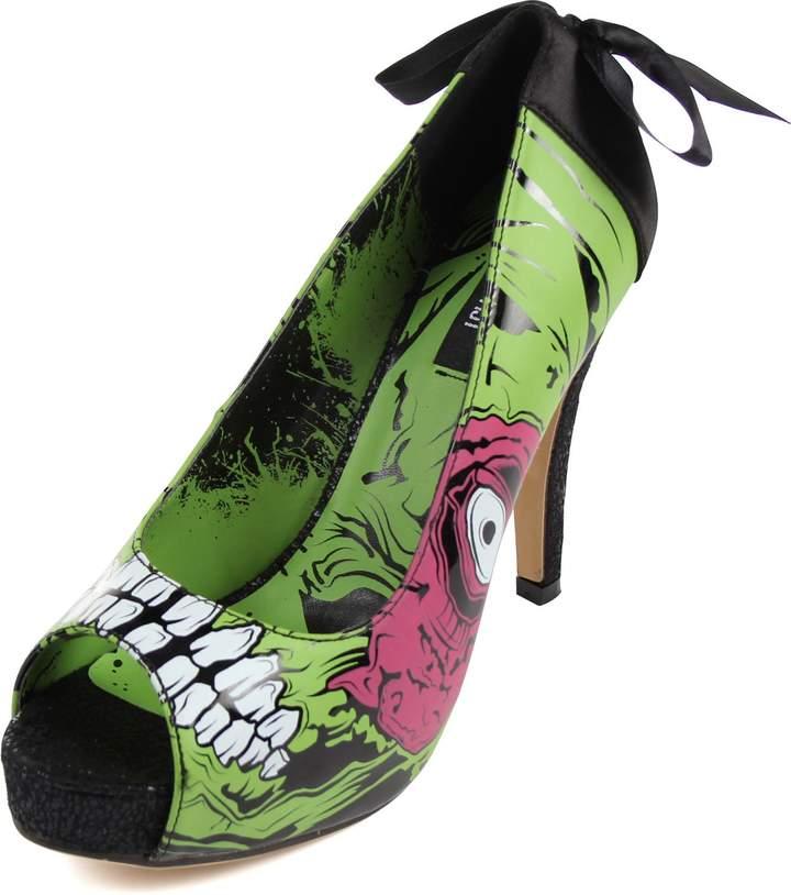 Iron Fist Womens Zombie Stomper Platform Shoes, Size: Womens, Color: