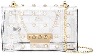 Zac Posen Earthette Quilted Pearl Lady shoulder bag