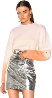 Proenza Schouler Wool & Cashmere Dip Sweater